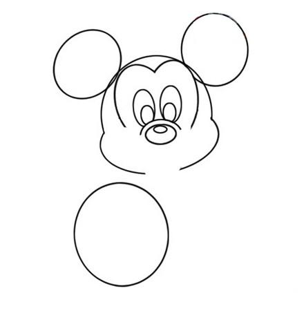 儿童学画画之米老鼠简笔画 厦门市培训机构服务中心